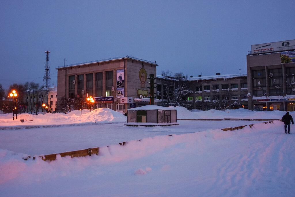 на зима комсомольск фото амуре