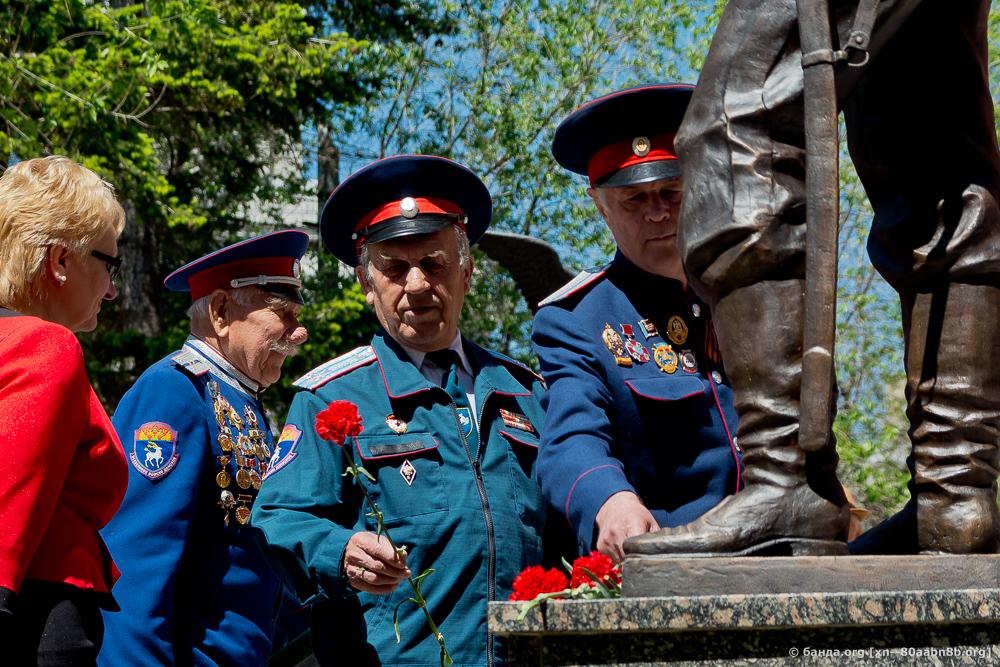 Открытие памятника Недорубову