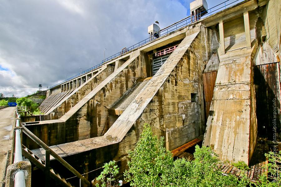 0 cd45e b1cc3f7b orig Янискоски ГЭС на реке Паз