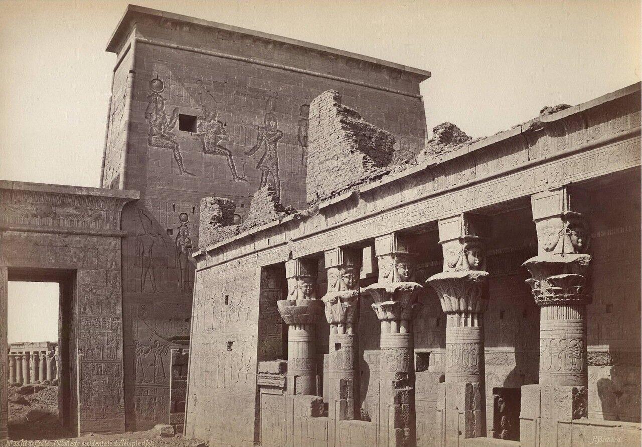 Остров Филе, храм Исиды