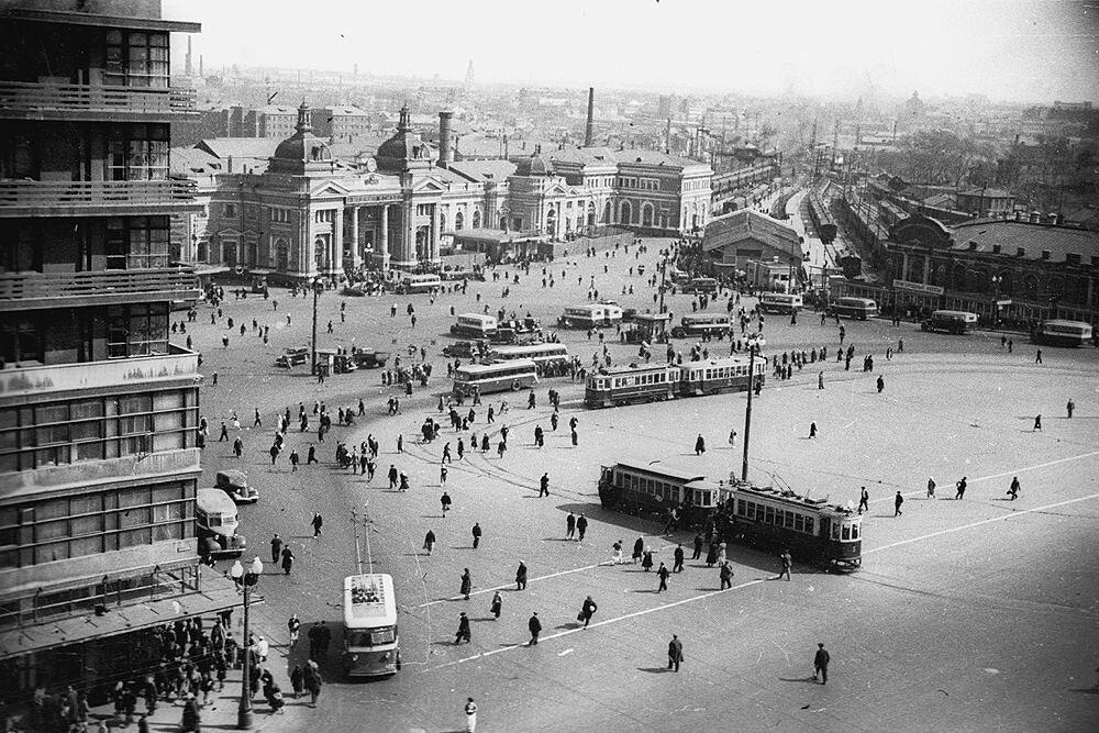 1939. Площадь Курского вокзала