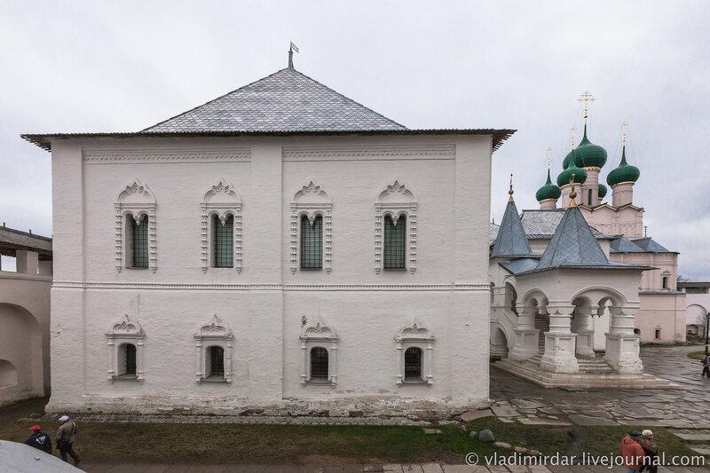 Красные палаты. Ростовский кремль.
