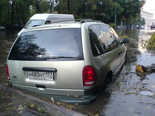 Потоп на Электрозаводской1