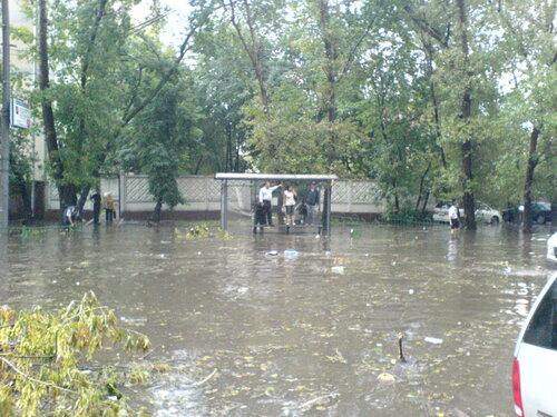 Потоп на Электрозаводской2