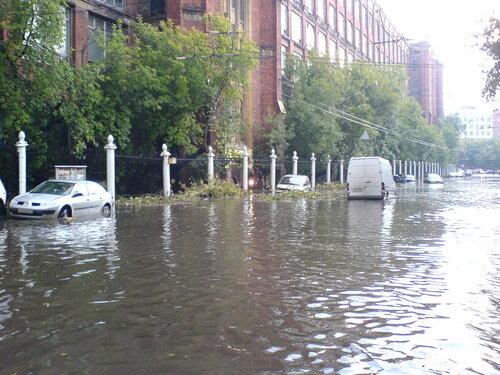 Потоп на Электрозаводской