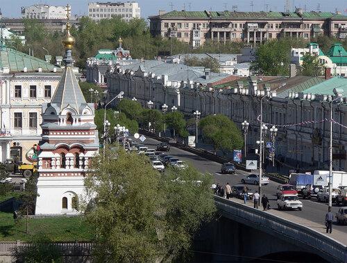Омск. Проспект Любинский.