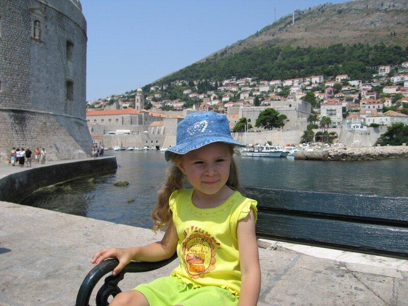 Галка в Дубровнике