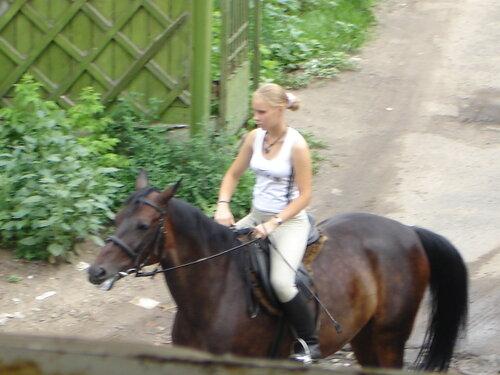 Незнакомка на коне