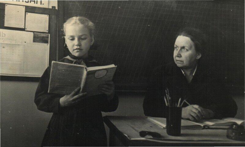 фото старой училки