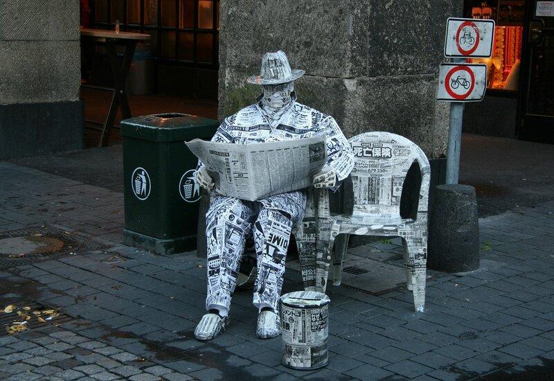 газетный человек