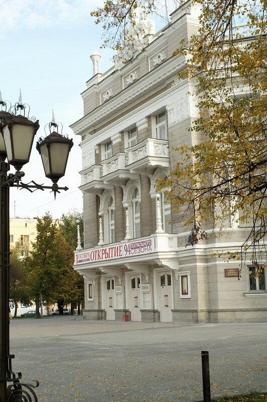 Оперный театр в Екатеринбурге - один из старейших в России.  Свой первый сезон он открыл в 1912 году.