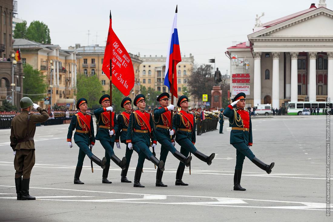 репетиция парада Победы в Волгограде