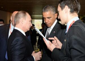 Известно содержание бесед между Путиным и Обамой на АТЭС