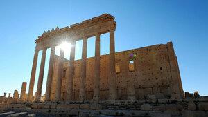 ООН опубликовал фотографии разрушенного храма в Пальмире