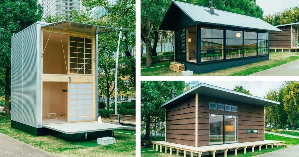 Японские хижины, которые легко построить в любом месте