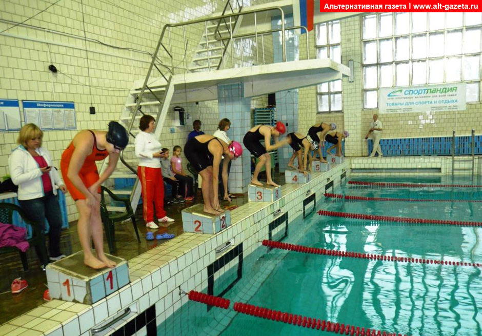 Открытое первенство ДЮСШ «Чайка» по плаванию