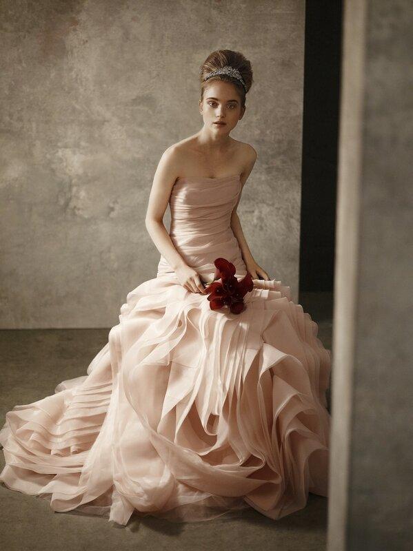Платье от веры вонг 2015