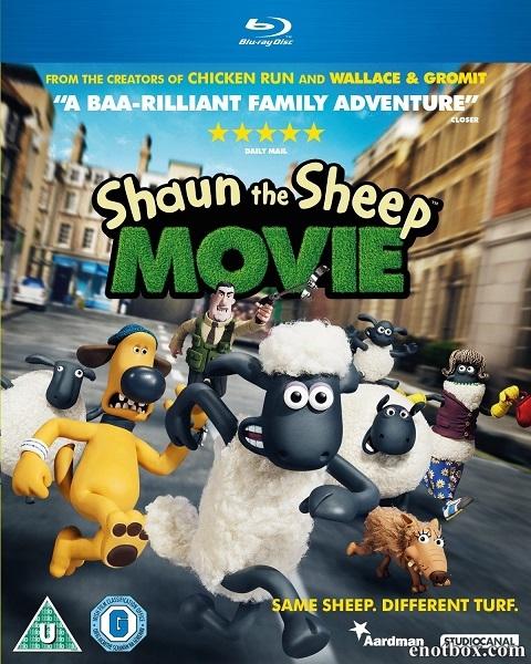 Барашек Шон / Shaun the Sheep Movie (2015/BDRip/HDRip)