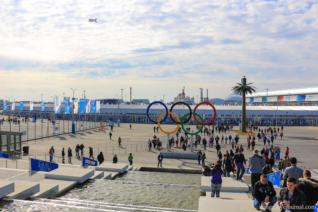 Олимпийский парк в Сочи, Адлер