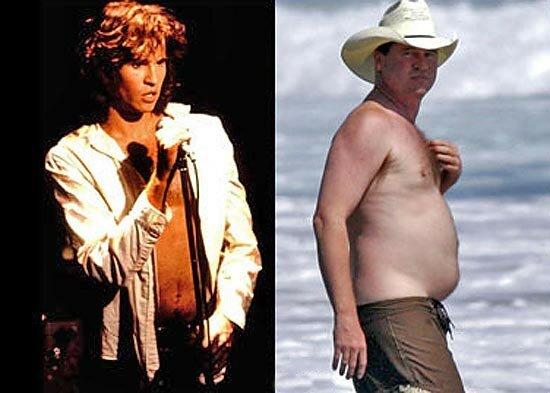 Знаменитые мужчины, потерявшие форму