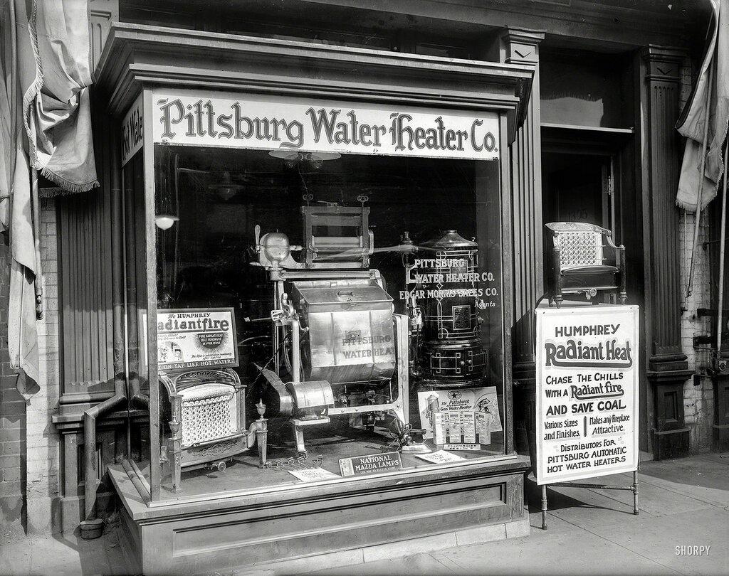 Washington, D.C., 1920. Pittsburg Water Heater Co