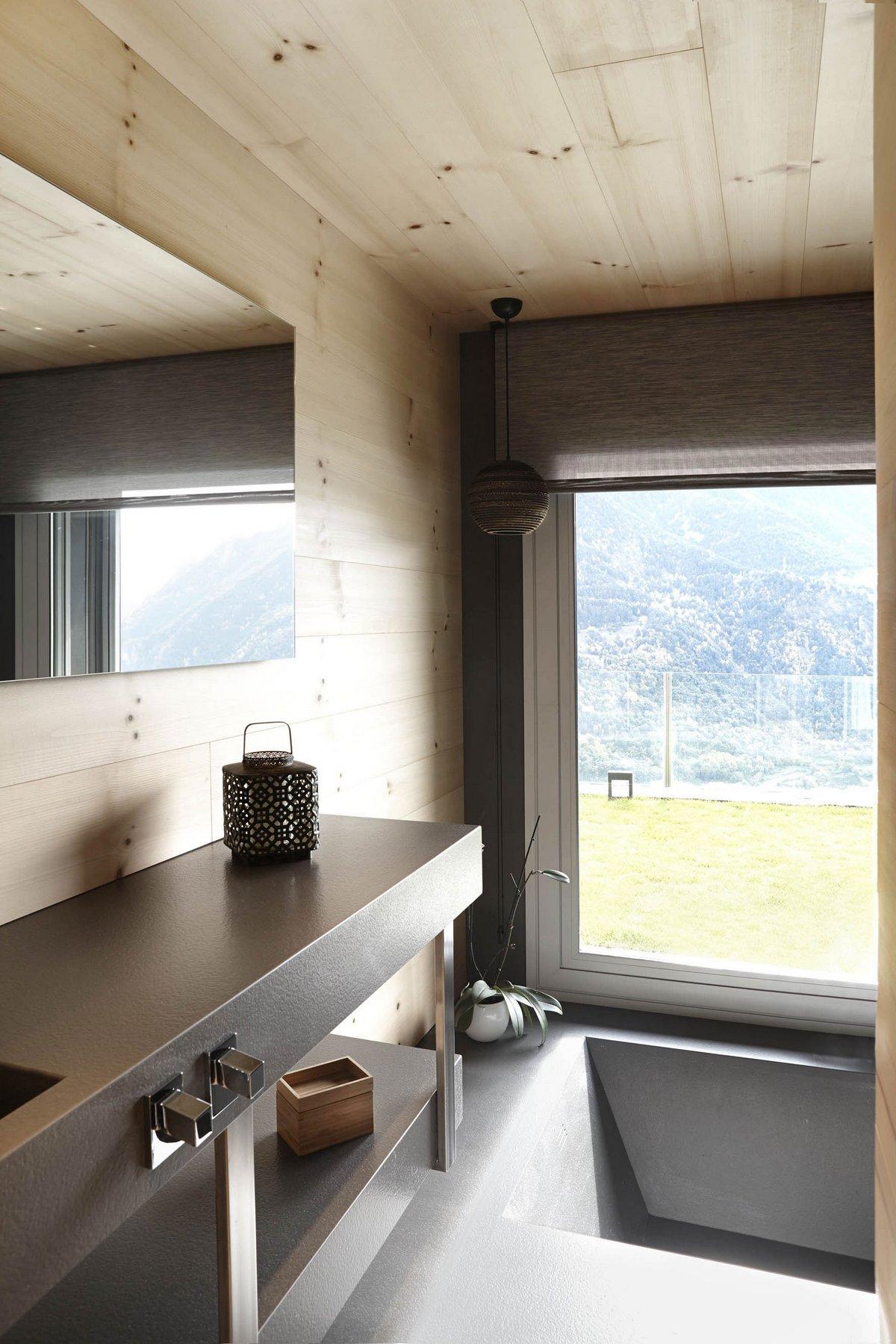 Coblonal Arquitectura, дома в Андорра-ла-Велья, особняки в Андорре, нейтральный дизайн интерьера, светлое дерево в отделке интерьера, трехэтажный дом