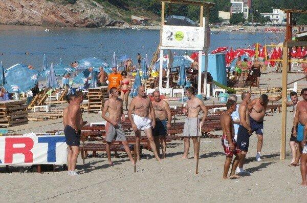 Черногория, спорт, пляжи