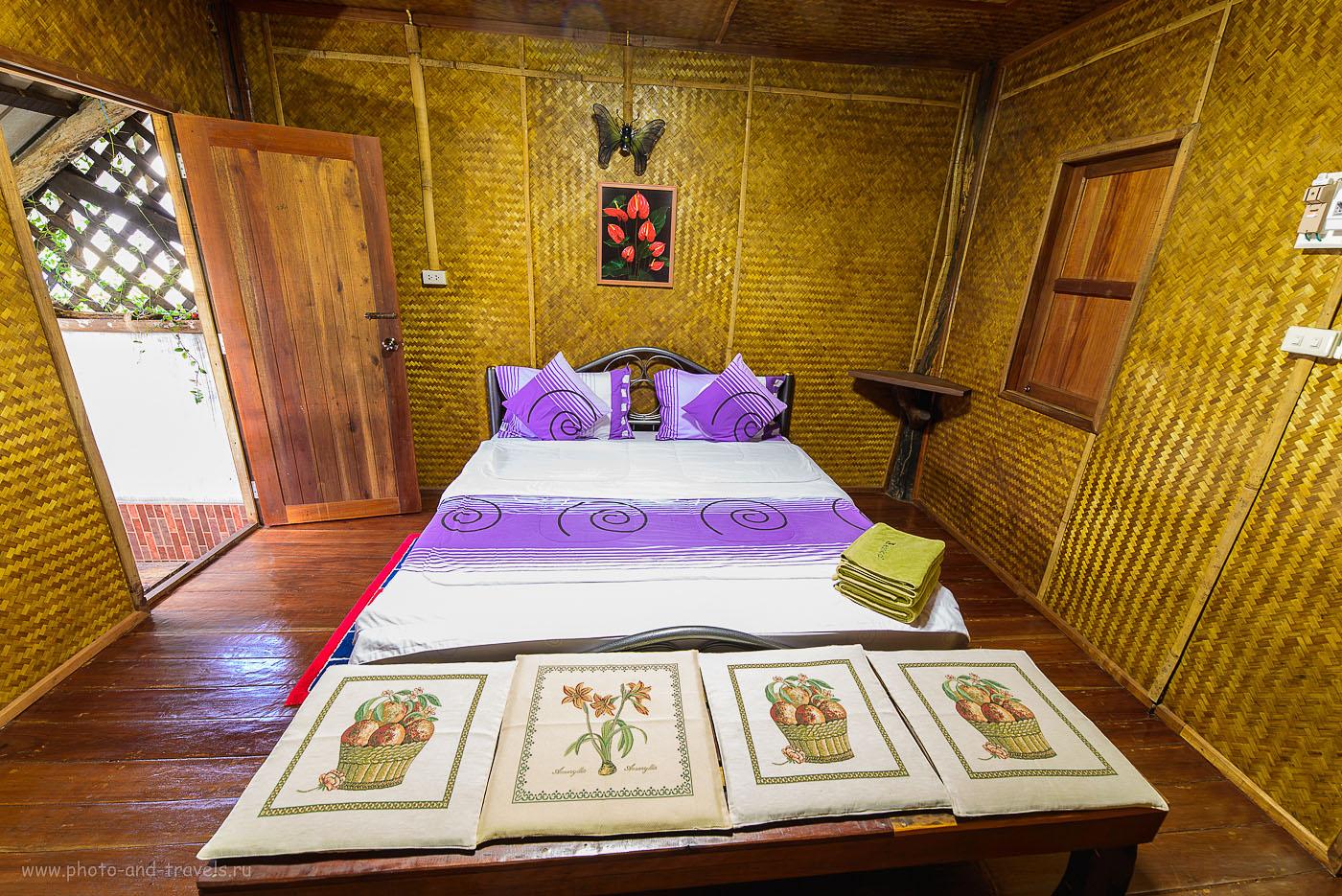Фото 16. Интерьерная съемка на Никон Д610 и широкоугольный объектив Самъянг 14/2,8. Гостиница Monpai Resort в городе Ранонг в Таиланде (100, 14, 9.0, 30 секунд). Отзывы туристов