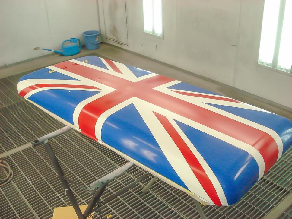 Smeg ретро холодильники британский флаг