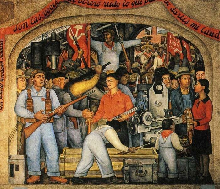 Диего Ривера: Живопись, как и политика – это поле боя