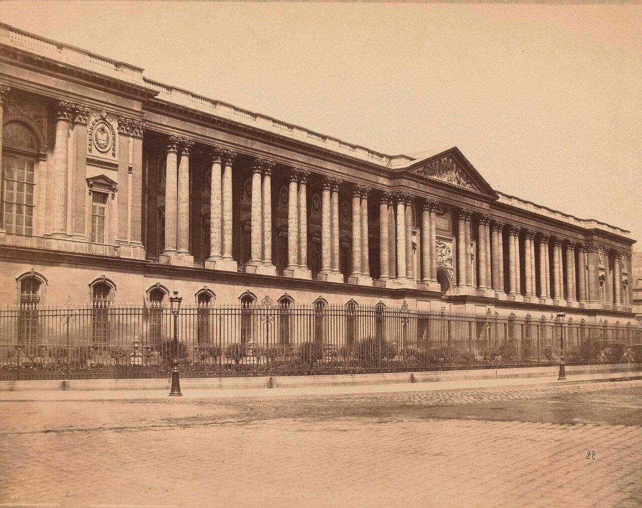 1870-е. Лувр