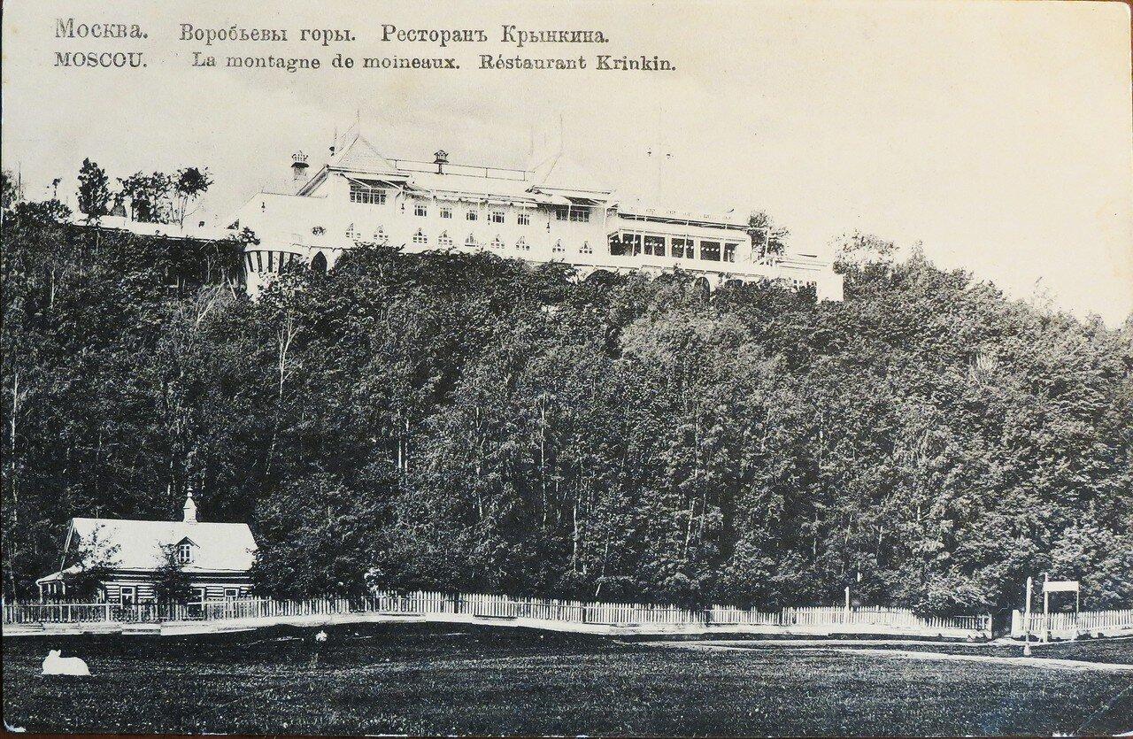 Окрестности Москвы. Воробьевы горы. Ресторан Крынкина