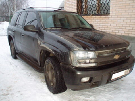 Выбор пал на Chevrolet TrailBlazer