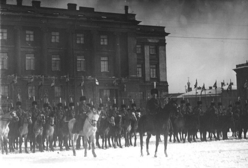 Подразделение 1 конного Петроградского полка