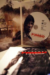 Rambo 4 - корбока с DVD