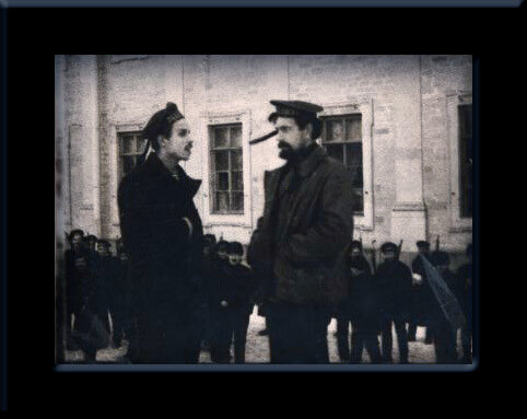 Павел Ефимович Дыбенко, герой революции, большевик ленинец - редкая фотография