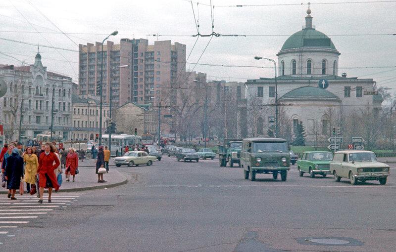 Москва в кон. 1970-ых. Никитские ворота.