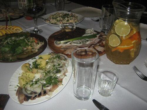 Еда с Пивной Хаты