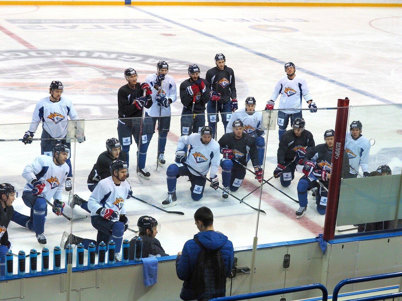 2 Открытая тренировка Металлурга перед серией с Барысом 07.03.2017