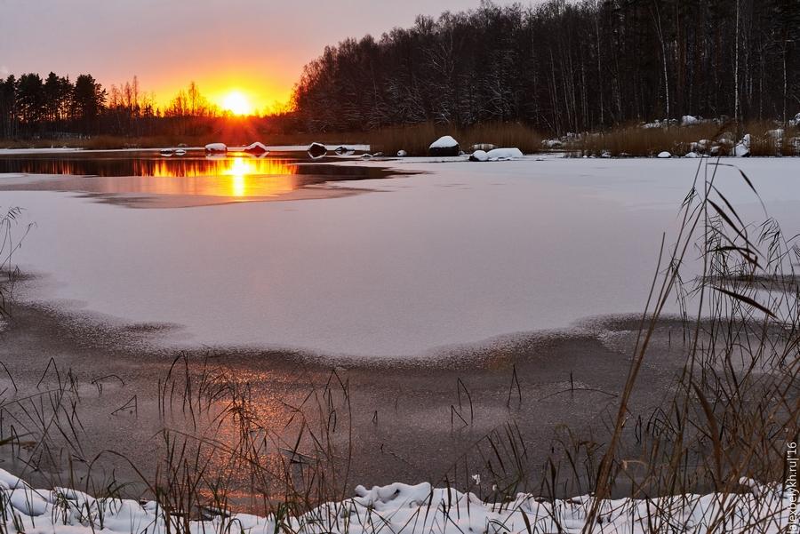 alexbelykh.ru, солнечный камень, кирха Вуоксела