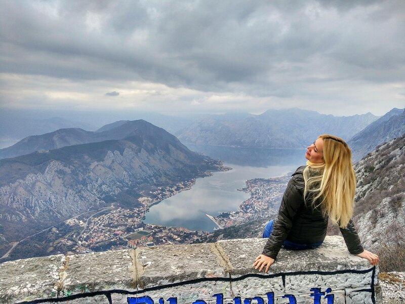 январь в Черногории