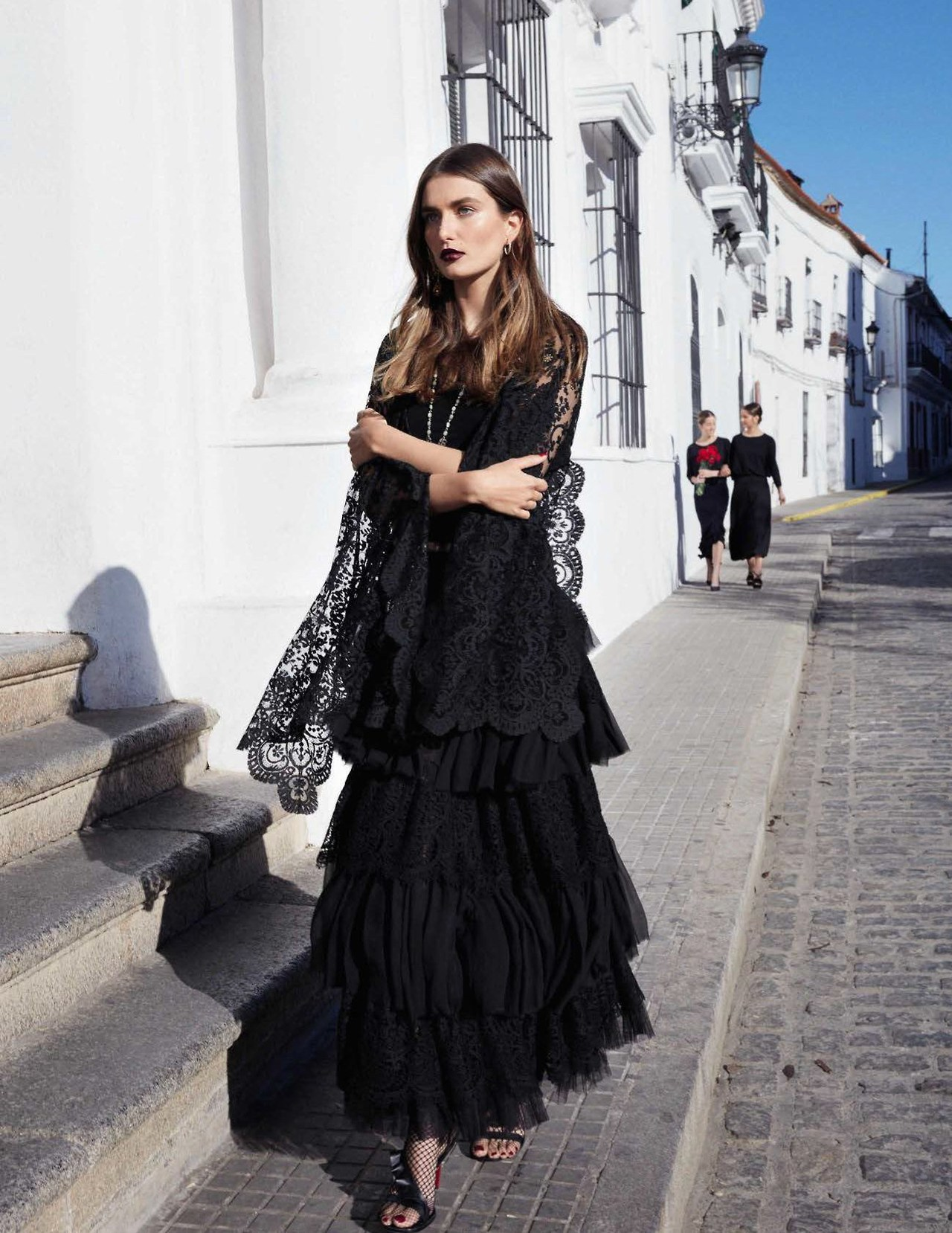 Где-то в Севилье Vogue Spain March 2017 | Andreea Diaconu by Miguel Reveriego