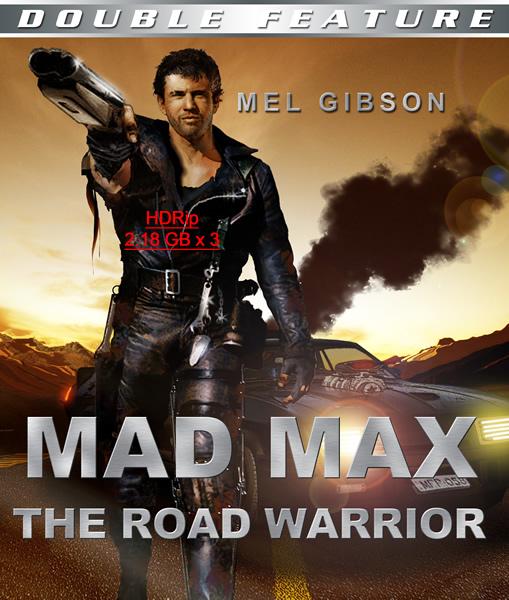 Безумный Макс (Трилогия) / Mad Max / 1979-1985 / HDRip (2100 x 3)