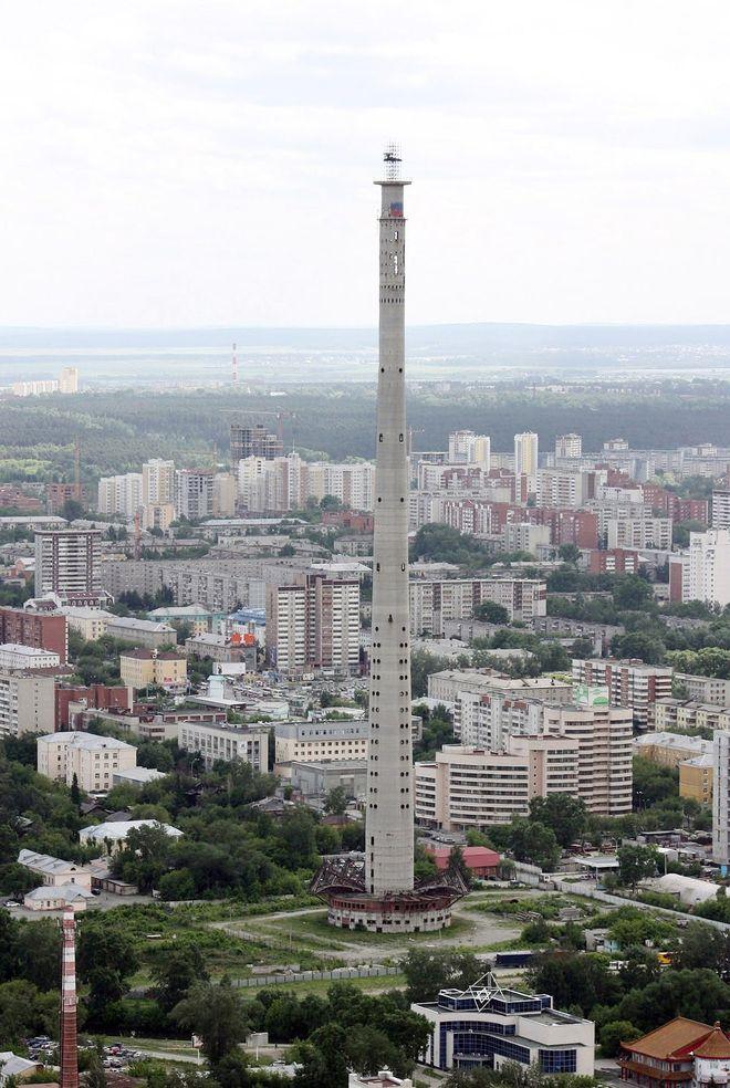 2. Екатеринбургская телевизионная башня, Россия Самая высокая заброшенная конструкция в мире, телеви