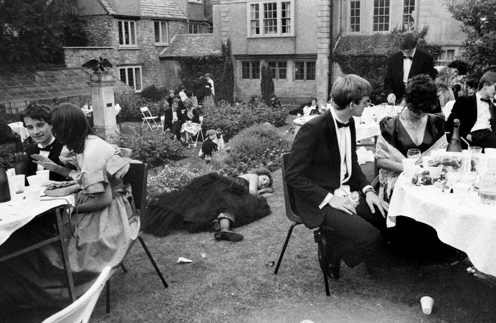 Майский бал Нью-колледжа, Оксфорд, июнь 1986 года.