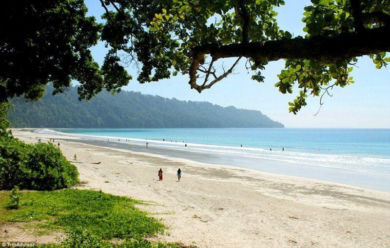 8. Раданагар, остров Хавелок, Андаманские и Никобарские острова, Индия . Лучшее время для посещения: