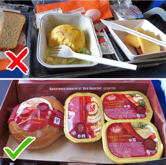 © crazy-traveller.ru  Многие авиакомпании предлагают сразу несколько вариантов бортового питан