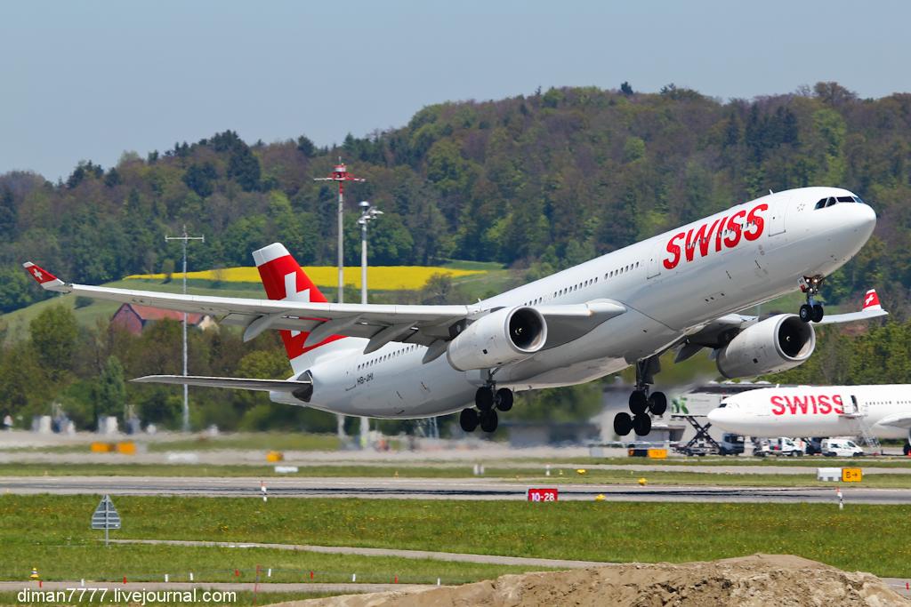 Новая площадка в аэропорту Цюриха