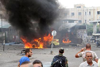 Новые взрывы прогремели вДамаске около военного аэропорта