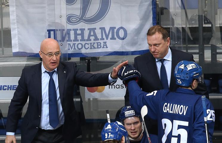Новым тренером хоккейного клуба «Динамо» назначен Владимир Воробьев